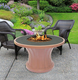 Rodeo Chat Height Gas/Propane Fire Pit Table - Fire Pit Plaza - 3