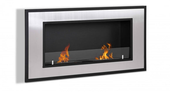 Ignis Bellezza Wall Mounted Recessed Ethanol Fireplace 47.25