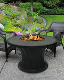 Rodeo Chat Height Gas/Propane Fire Pit Table - Fire Pit Plaza - 2