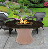 Rodeo Chat Height Gas/Propane Fire Pit Table - Fire Pit Plaza - 16