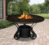 Solano Dining Height Gas/Propane Fire Pit Table - Fire Pit Plaza - 8