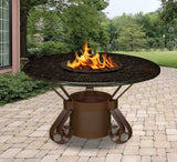 Solano Dining Height Gas/Propane Fire Pit Table - Fire Pit Plaza - 4