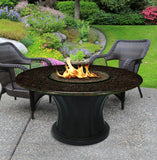 Rodeo Chat Height Gas/Propane Fire Pit Table - Fire Pit Plaza - 12