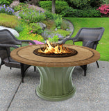 Rodeo Chat Height Gas/Propane Fire Pit Table - Fire Pit Plaza - 27