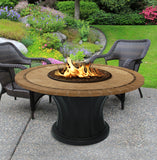 Rodeo Chat Height Gas/Propane Fire Pit Table - Fire Pit Plaza - 23