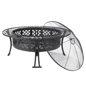 Diamond Weave Fire Pit - Fire Pit Plaza - 1