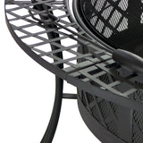 Diamond Weave Fire Pit - Fire Pit Plaza - 3