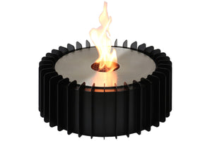 "Ignis EBG300  Round Ethanol Fireplace Grate 14.5"" - Fire Pit Plaza - 1"