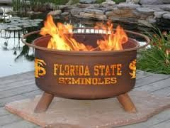 Florida State Fire Pit Grill - Fire Pit Plaza - 1