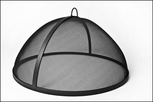 "Lift Off Dome Fire Screens- Large 36""- to 52"" - Fire Pit Plaza - 1"