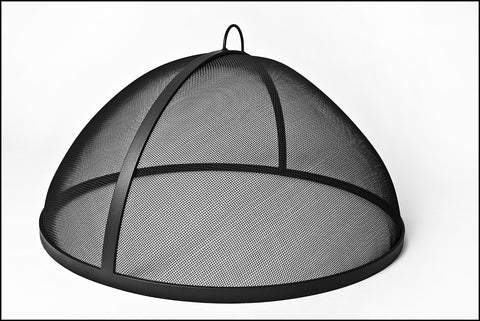 "Lift off Dome Fire Screens 30"" to  35"" - Fire Pit Plaza - 1"
