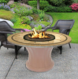 Rodeo Chat Height Gas/Propane Fire Pit Table - Fire Pit Plaza - 26