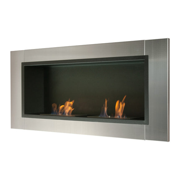 Ignis Lata Wall Mounted Recessed Ventless Ethanol Fireplace 43.25