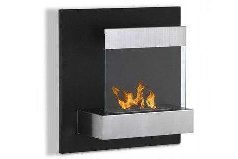 "Ignis Melina Wall Mounted Ventless Ethanol Fireplace 24"" - Fire Pit Plaza - 1"