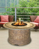 Palm Chat Height Gas/Propane Fire Pit Table - Fire Pit Plaza - 2