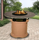 Del Mar Balcony Height Gas/Propane Fire Pit Table - Fire Pit Plaza - 9