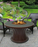 Rodeo Chat Height Gas/Propane Fire Pit Table - Fire Pit Plaza - 1