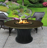 Rodeo Chat Height Gas/Propane Fire Pit Table - Fire Pit Plaza - 11