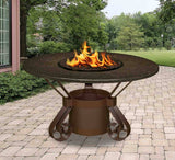 Solano Dining Height Gas/Propane Fire Pit Table - Fire Pit Plaza - 3