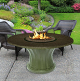 Rodeo Chat Height Gas/Propane Fire Pit Table - Fire Pit Plaza - 19
