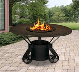 Solano Dining Height Gas/Propane Fire Pit Table - Fire Pit Plaza - 7