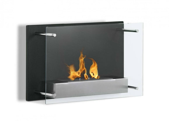 Ignis Senti Wall Mounted Ventless Ethanol Fireplace 23.6