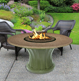 Rodeo Chat Height Gas/Propane Fire Pit Table - Fire Pit Plaza - 18