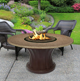 Rodeo Chat Height Gas/Propane Fire Pit Table - Fire Pit Plaza - 6