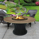 Rodeo Chat Height Gas/Propane Fire Pit Table - Fire Pit Plaza - 10