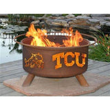 TCU Horned Frogs Fire Pit Grill - Fire Pit Plaza - 1
