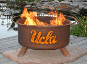 UCLA Fire Pit Grill - Fire Pit Plaza - 1