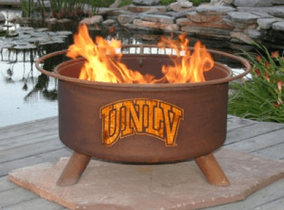 UNLV Fire Pit Grill - Fire Pit Plaza - 1