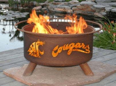 Washington State Cougars Fire Pit Grill - Fire Pit Plaza - 1
