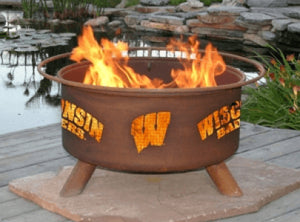 University of Wisconsin Fire Pit Grill - Fire Pit Plaza - 1
