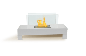 Bio-ethanol Fireplaces - Anywhere Fireplace Gramercy Wh. Indoor Outdoor Fireplace 32""