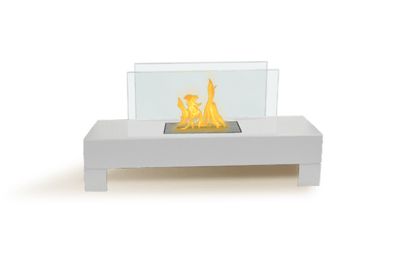 Bio-ethanol Fireplaces - Anywhere Fireplace Gramercy Wh. Indoor Outdoor Fireplace 32