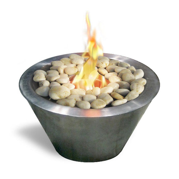 Bio-ethanol Fireplaces - Anywhere Fireplace Oasis Indoor Outdoor Fire Pit 13.5