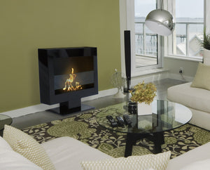 Bio-ethanol Fireplaces - Anywhere Fireplace Tribeca II Floor Standing Fireplace 28""