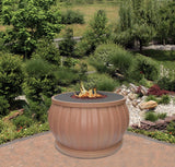 Fire Pit Table - El Paseo Chat Height Gas/Propane Fire Pit Table