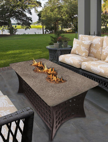 La Costa Del Rio GasPropane Fire Pit Table Fire Pit Plaza