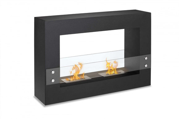 Freestanding Ethanol Fireplace - Ignis Tectum Freestanding Ventless Ethanol Fireplace 47