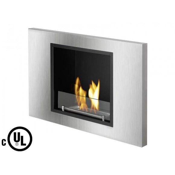 Lima - Recessed Ventless Ethanol Fireplace UL/CUL