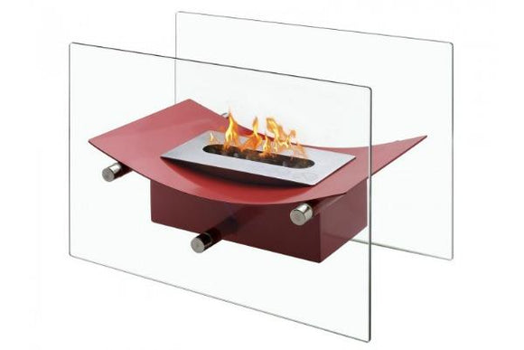 Verona Red - Tabletop Ventless Ethanol Fireplace