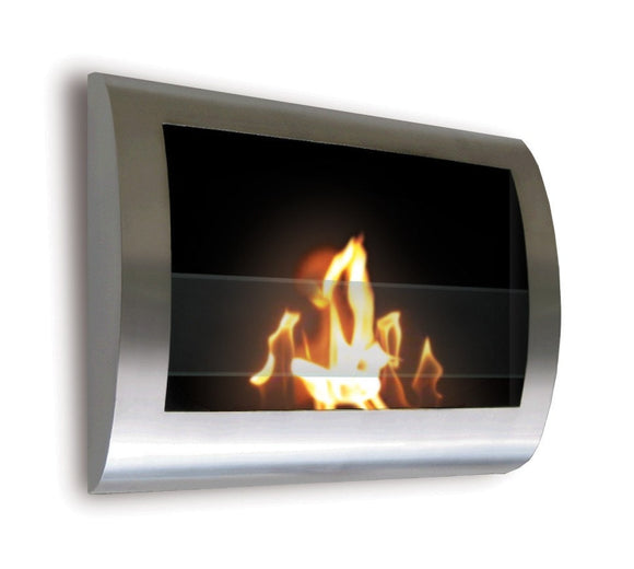 Anywhere Fireplace Chelsea Stainless Hanging Fireplace 27.5