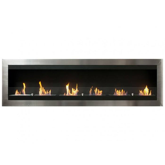 Ignis Maximum Wall Mounted Ventless Ethanol Fireplace w/Glass - Fire Pit Plaza - 1