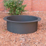 "Sunnydaze Decor Heavy Duty Fire Pit Ring for in Ground Fire Pit 30"" - Fire Pit Plaza - 1"