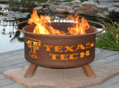 Texas Tech Fire Grill - Fire Pit Plaza - 1