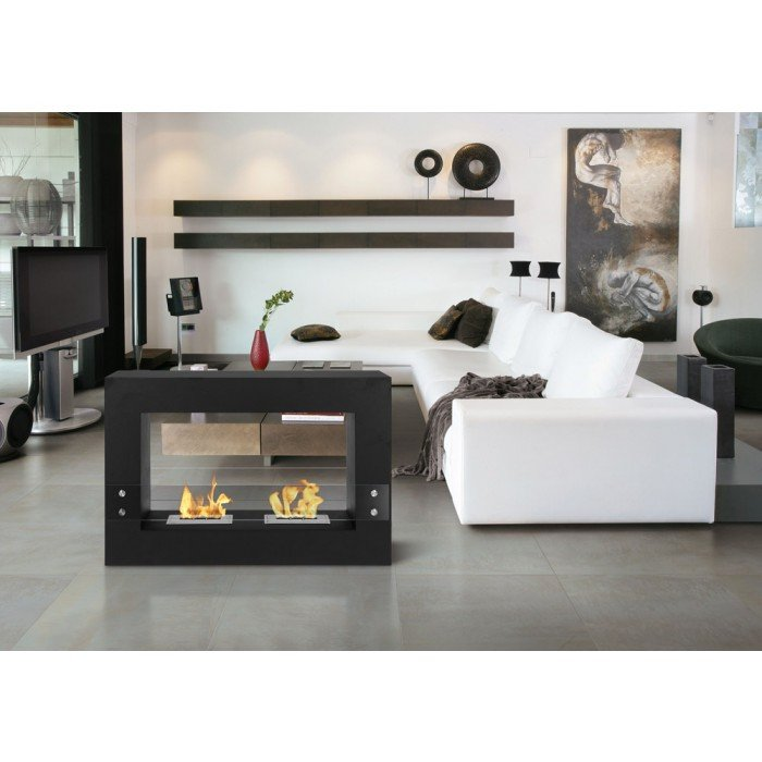 With the beauty and charm of the Ignis Tectum White Freestanding Ventless Ethanol Fireplace you can really make your house into a warm and cozy home that will leave an impression on anyone visiting. This freestanding ethanol fireplace is designed to offer
