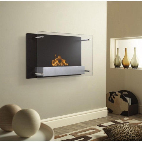 Ignis Senti Wall Mounted Ventless Ethanol Fireplace 23 6 Quot