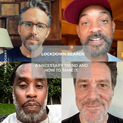 Lockdown Beards: A Necessary Trend and How to Tame It - MANHOGANY